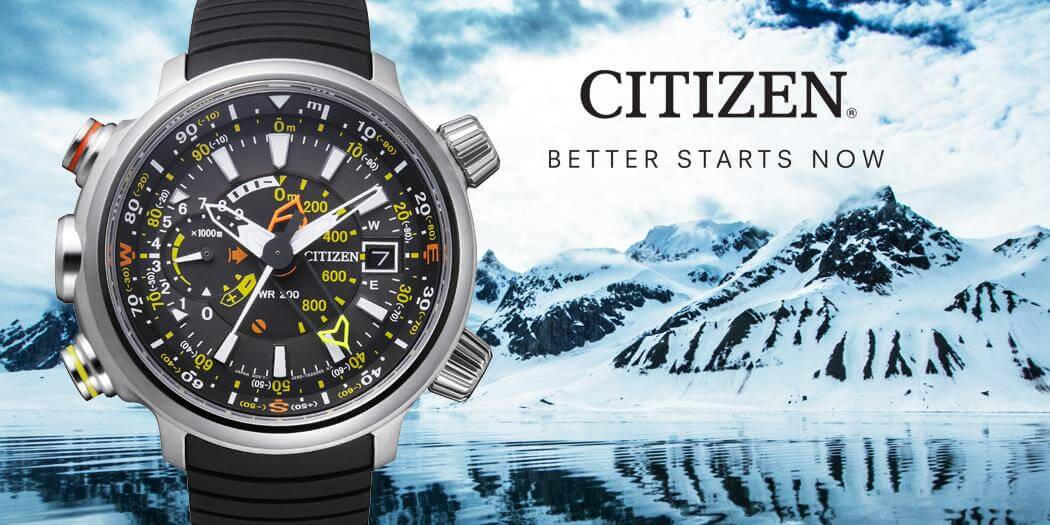 Citizen herenhorloges