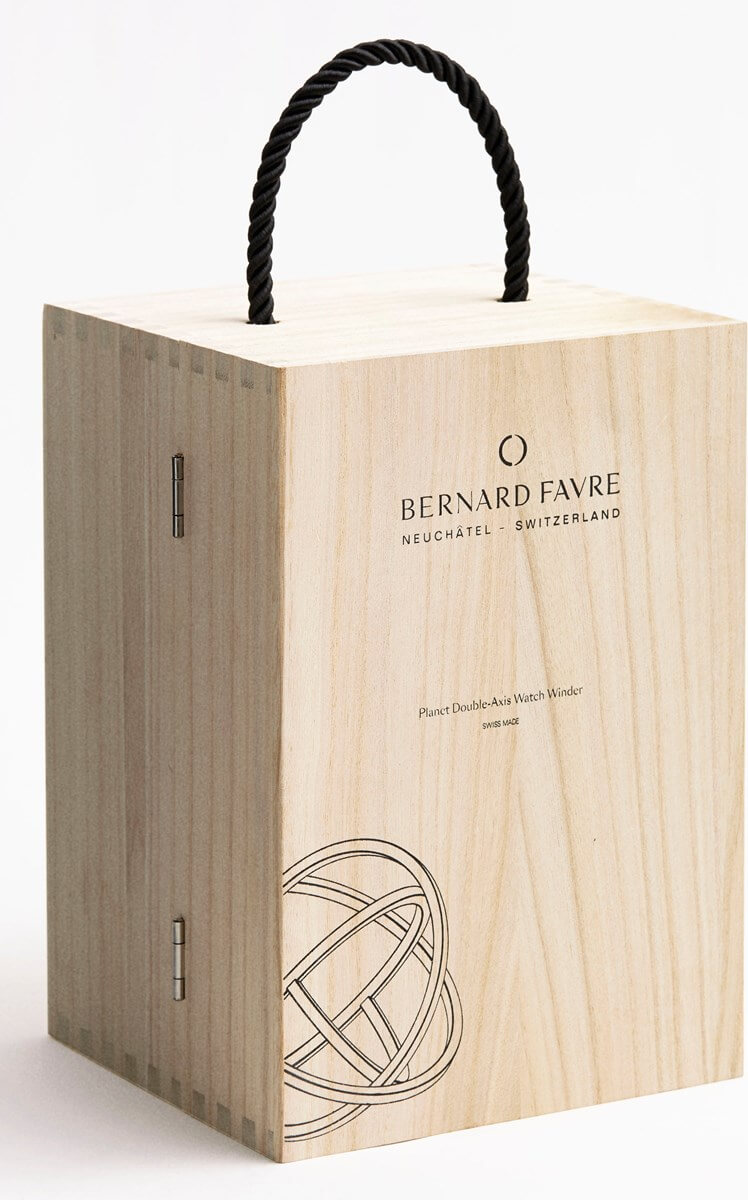 Bernard Favre Planet Gold watch winder