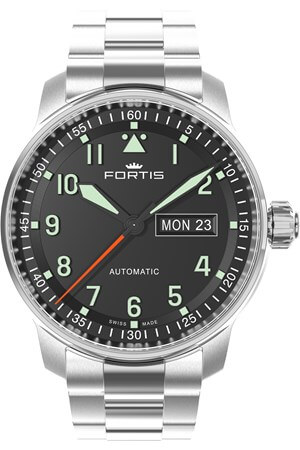 Fortis Flieger Professional 704.2.11 Metal