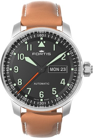Fortis Flieger Professional 704.21.11 LB