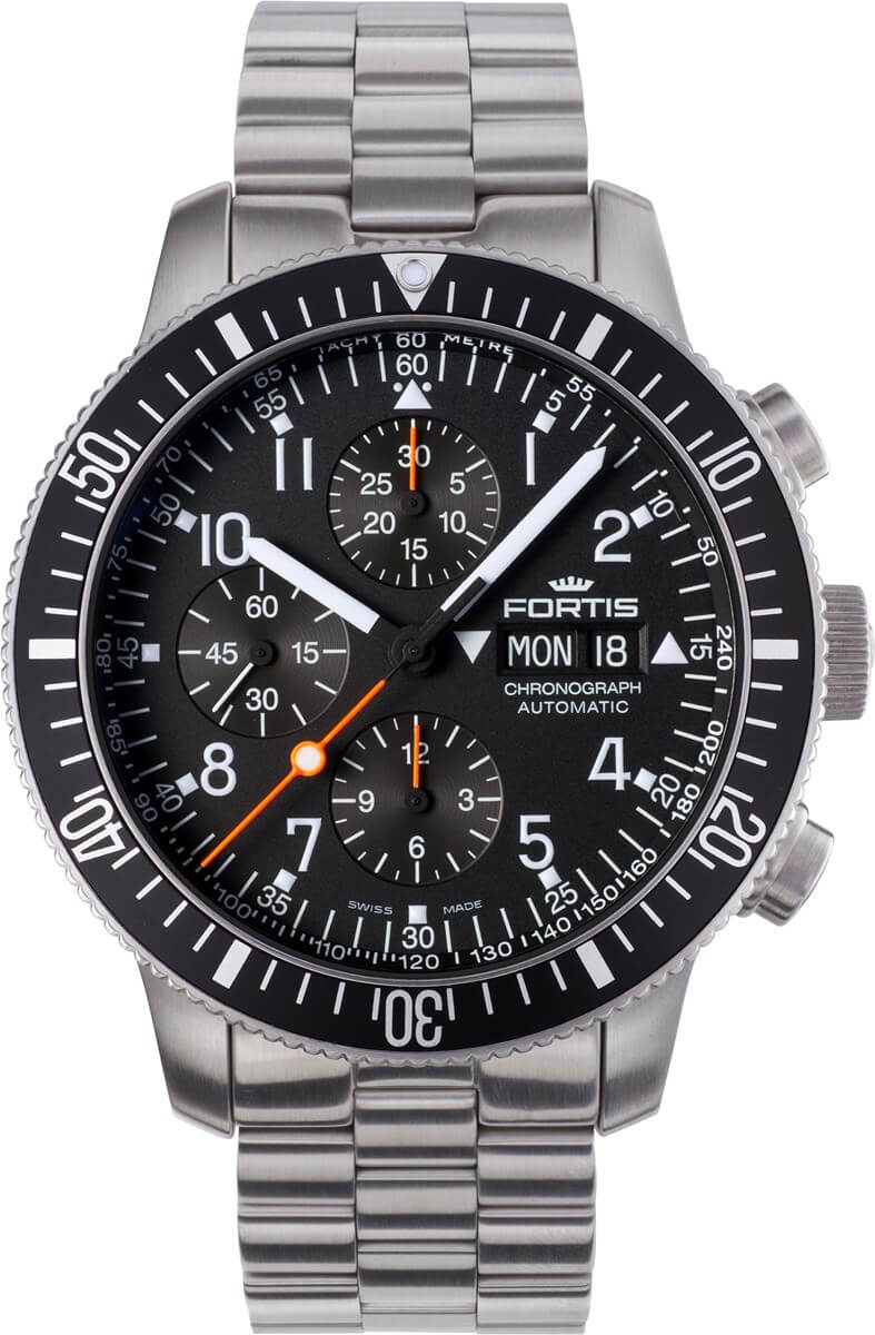 Fortis Official Cosmonauts Chronograph 638.10.11