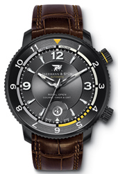 Jaermann & Stübi Royal Open Course Timer GMT RC3
